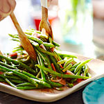 Green Bean & Shallot Salad