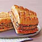 Eggplant Parm Panini