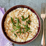 Smoky Eggplant Risotto