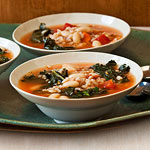 Tuscan Kale & Farro Soup