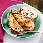 Grilled Pears with Whipped Mascarpone