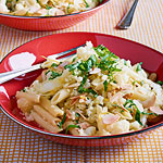 For Saffron Lovers: Cauliflower with Penne