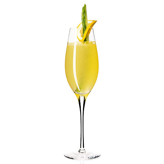 Sweet Tart Champagne Cocktail