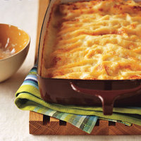 Ham and Cheese Cannelloni