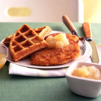 Chicken and Honey-Buttered Waffles