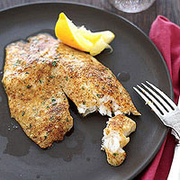 Parmesan-Crusted Tilapia