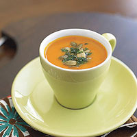 Piquillo-Squash Soup Shooters