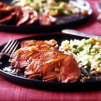 Duck Breast a` lOrange