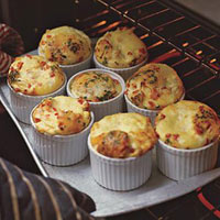 Mini Turkey and Egg Casseroles