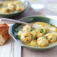 Double Chicken Dumpling Stoup