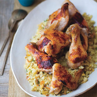 Tandoori Chicken with Date-Nut Couscous