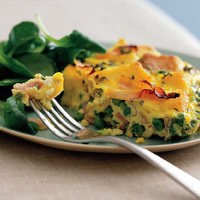 Ham and Peas Casserole