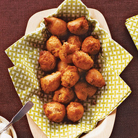 Peanut Butter Fritters