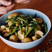 Balsamic Potato and Green Bean Salad