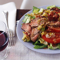 BLT (Beef, Leek and Tomato) Salad