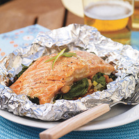 Salmon Grill Packets