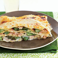 Asparagus-Ham Lasagna