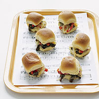 Cheesesteak Sliders