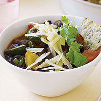 Grilled Vegetable Chili