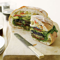 Grilled Vegetable Muffuletta