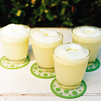 Sparkling Margarita Floats