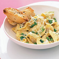 Peas and Cheese Tortellini