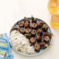 Beef and Scallion Roll-Ups