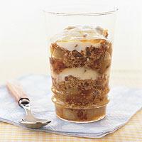 Pear-Granola Parfaits