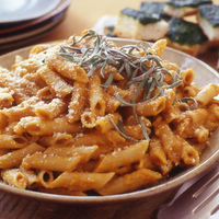 Penne-Wise Pumpkin Pasta