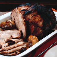 Beer-Roasted Pork Shoulder