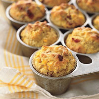 Corn Bacon Muffins