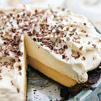 Double-Decker Pumpkin-Caramel Pie