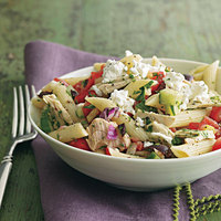 Greek Tuna Salad Pasta