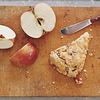 Oatmeal-Apple Scones