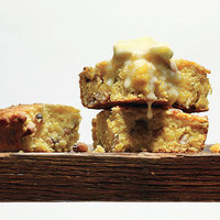 Buttermilk Cornbread with Black-Eyed Peas