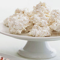 Coconut Snowball Crisps