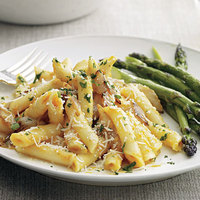 Penne with Pumpkin Cream Sauce