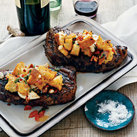 Strip Loin Steaks with 