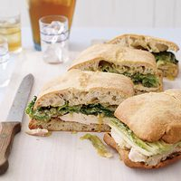 Charred Chicken Caesar Sammies