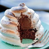 Blackout Baked Alaska