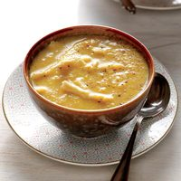 Curried Chicken-and-Cider Soup