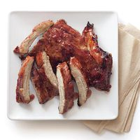 Apple-Cider-Glazed Baby Back Ribs
