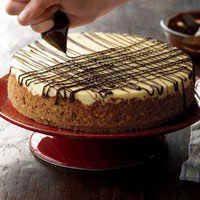 Chocolate Chip Tiramisu Cheesecake