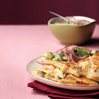 Shrimp and Bacon Quesadillas Recipe | MyRecipes.com