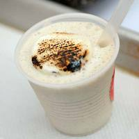 Spike Mendelsohn's Toasted Marshmallow Milkshakes