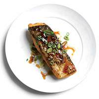 Super-Crispy Salmon Teriyaki