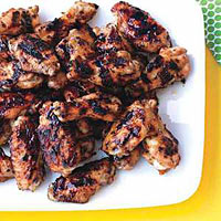 Chicken Wings with Jala-Peach Sauce