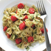 Cashew-Pesto Pasta