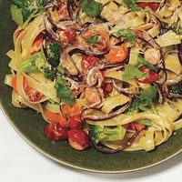 Stir-Fried Pasta Primavera