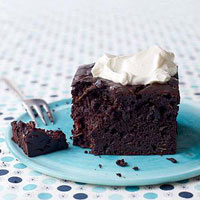 Chocolate-Zucchini Snack Cake